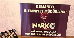 Osmaniye'de uyuşturucu operasyonunda yakalanan...