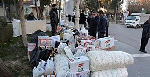 Şanlıurfa'da, Elazığ ve Malatya'daki depremzedeler için yardım kampanyası başlatıldı