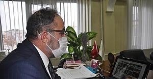 Afşin Kaymakamı Pınar ve Belediye...
