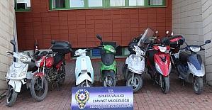 Isparta'da motosiklet hırsızlığına karıştığı öne sürülen zanlı tutuklandı