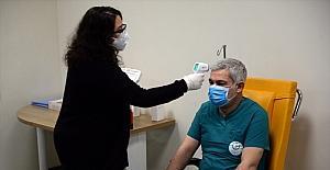 Kahramanmaraş#039;ta CoronaVac aşısı...