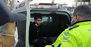Kahramanmaraş'ta hırsızlık şüphelisi suçüstü yakalandı