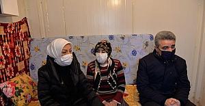 Malatya'da kent protokolü depremzede aileleri...