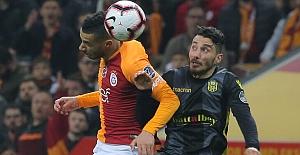 Yeni Malatyaspor sahasında Galatasaray'a geçit vermiyor