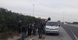 12 kişilik minibüsteki 18 yolcuya sosyal mesafe ve maske cezası