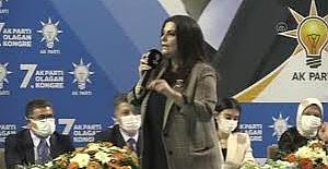 AK Parti'li Sarıeroğlu, partisinin Adana Kadın Kolları 6. Olağan İl Kongresi'nde konuştu:
