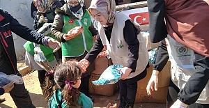 Elbistan İHH Kadın Kolları İDLİB#039;e...