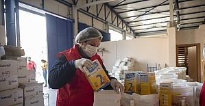 Mersin'de ihtiyaç sahibi 14 bin 292 aileye