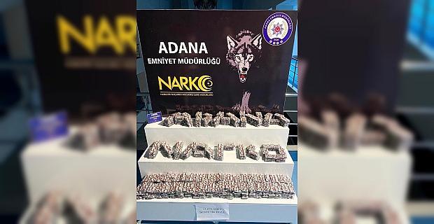 Adana'da uyuşturucu operasyonlarında yakalanan 28 şüpheli tutuklandı