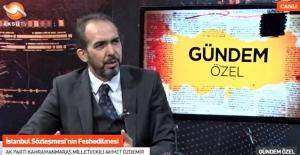 """AK Partili Özdemir, """"AK Parti ülkemizin sınıf atlamasına, ufkunun değişmesine sebep oldu"""""""