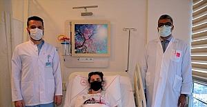 Alanya'da ilk kez yapılan ameliyatla sağlığına kavuştu