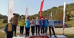 Erdemli Belediyesi Oryantiring Takımı 7 madalya kazandı