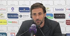 Hatayspor-Kayserispor maçının ardından