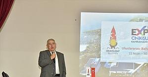 Kahramanmaraş'ta düzenlenecek EXPO 2023, Türkoğlu ilçesinde tanıtıldı