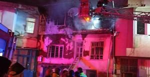 Yangında yaralanan karı koca yaşam mücadelesi veriyor