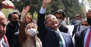 Ahmet Davutoğlu, Kahramanmaraş'ta konuştu