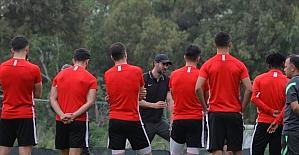 Hatayspor'da Antalyaspor maçı hazırlıkları tamamlandı
