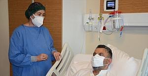 Antalyada Kovid-19 hastası avukat...