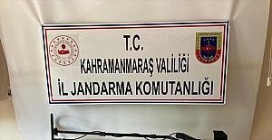 Kahramanmaraş'ta 45 tarihi eser ele geçirildi