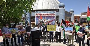 Kahramanmaraş'ta İsrail'in Mescid-i Aksa ve Doğu Kudüs'teki saldırıları protesto edildi
