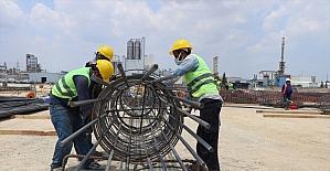 Adana'da dev petrokimya tesisinin inşaat çalışmalarına başlandı