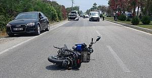 Adana'da otomobilin çarptığı motosikletin sürücüsü hayatını kaybetti