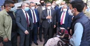 AK Partili Mahir Ünal Kahramanmaraş'ta