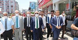 Bağımsız İstanbul Milletvekili Ümit Özdağ, Ayyıldız Hareketi heyetiyle Adana'yı ziyaret etti: