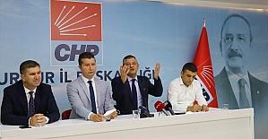 CHP Grup Başkanvekili Özel, Burdur'da partililerle buluştu: