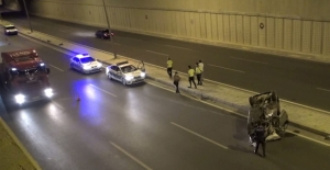 Kahramanmaraş'ta takla attı: 2 yaralı