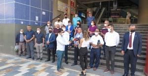 Kahramanmaraş'ta muhalefet 'Sarı Bina'ya sahip çıktı