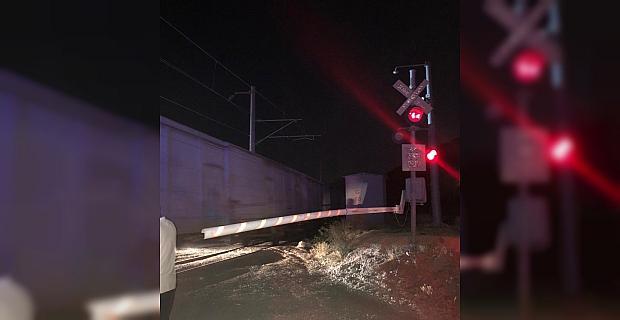 bKahramanmaraş#039;ta trene çarpan.../b