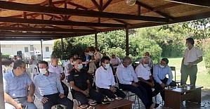 Mersin'de atıl tarım arazilerine keçiboynuzu dikimi projesi