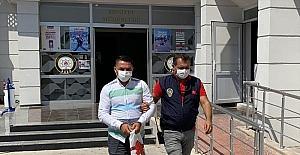 Mersin'de evlilik vaadiyle dolandırıcılık yaptığı iddia edilen zanlı yakalandı