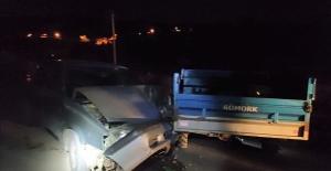 Nurhak'ta otomobil ile patpat çarpıştı: 1 ölü