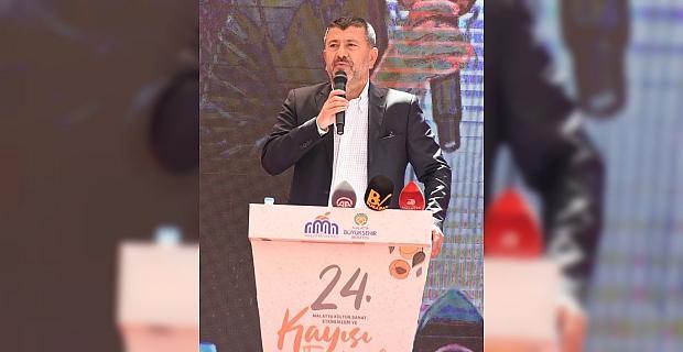 24. Malatya Kültür Sanat Etkinlikleri ve Kayısı Festivali başladı