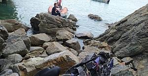 Antalya'da motosikletiyle uçuruma yuvarlanan sürücü hayatını kaybetti