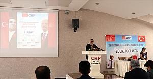 CHP Genel Başkan Yardımcısı Salıcı, Hatay'da partisinin bölge toplantısına katıldı: