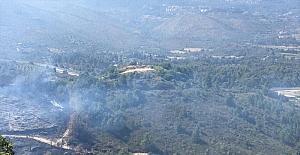 Suriye'de çıkan ve Türkiye'ye sıçrayan yangın kontrol altına alındı