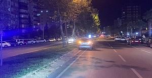 Alkollü sürücü otomobile arkadan çarptı