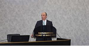 """Balcıoğlu: """"Kahramanmaraş'ın Sahip Olduğu Büyük Potansiyeli Dünyaya Açacağız"""""""