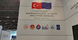 'İstanbul Jewelry Show' da Kahramanmaraş rüzgarı esti