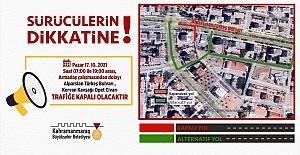 Kahramanmaraş'taki Sürücülerin Dikkatine!