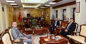TÜBİTAK Başkanı Prof. Dr. Mandal KSÜ'yü Ziyaret Etti