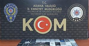 Adana'da 37 kaçak cep telefonu ele geçirilen iş yerinin sahibine gözaltı