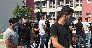 Adana merkezli yasa dışı bahis operasyonunda 17 şüpheli tutuklandı