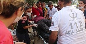 Adana'da motosiklet kazası: 2 yaralı