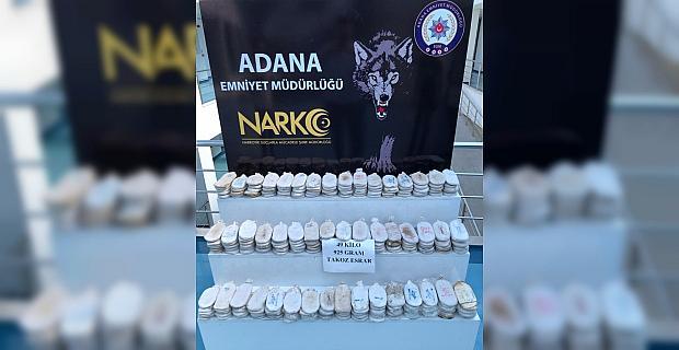 Adana'da uyuşturucu operasyonunda 3 şüpheli gözaltına alındı