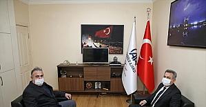 Adana Valisi Süleyman Elban'dan AA'ya ziyaret