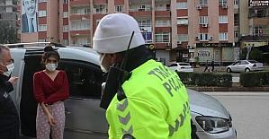 Adana'da sokağa çıkma kısıtlamasına uymayan 4 kişiye para cezası